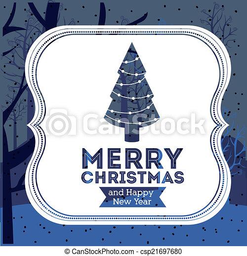 Diseño de Navidad - csp21697680