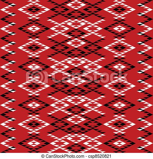 Diseño de textura étnica - csp8520821