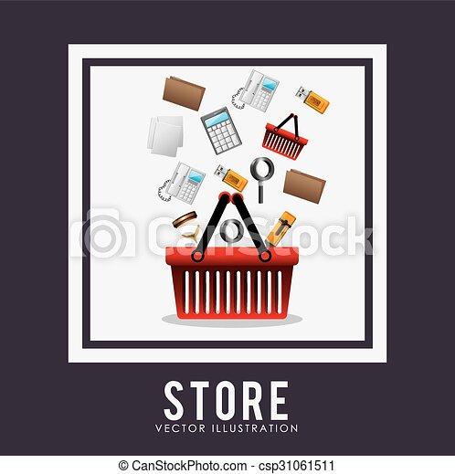Diseño de tiendas - csp31061511