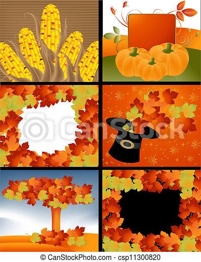Diseños de Acción de Gracias - csp11300820