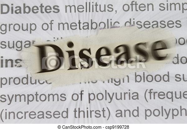 Disease - csp9199728