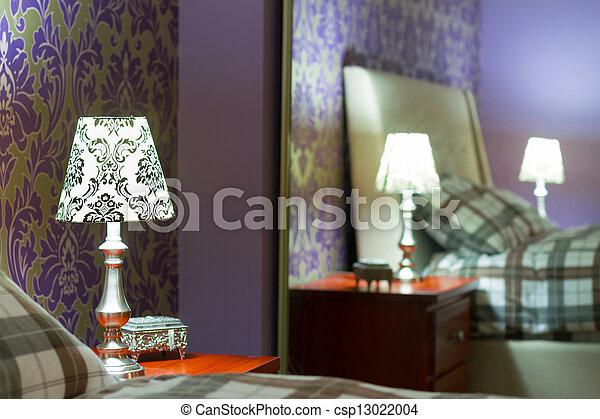 disegno interno, camera letto - csp13022004