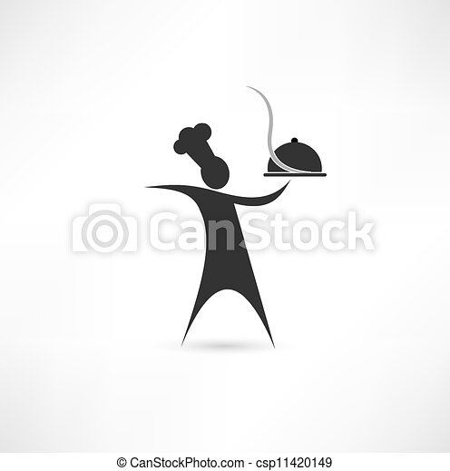 dish and cook sign - csp11420149