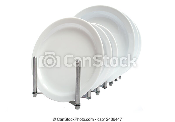 dishes - csp12486447