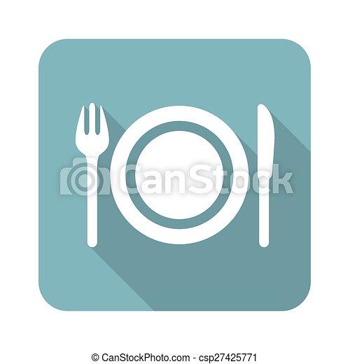 Dishware icon - csp27425771