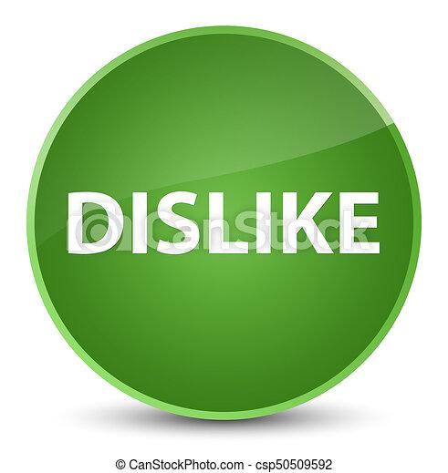 Dislike elegant soft green round button - csp50509592