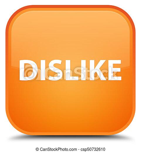 Dislike special orange square button - csp50732610
