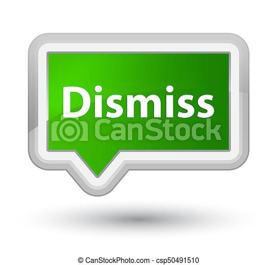 Dismiss prime green banner button - csp50491510