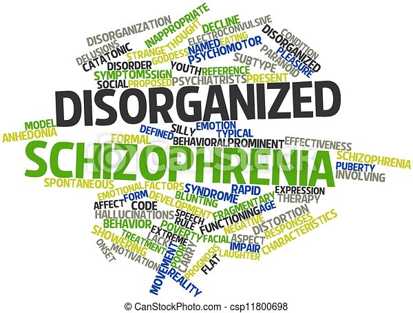 disorganized schizophrenia and national institute Schizophrenia essay  (exploring psychology in modules the person may have disorganized thinking (national institute of mental health  schizophrenia does not.