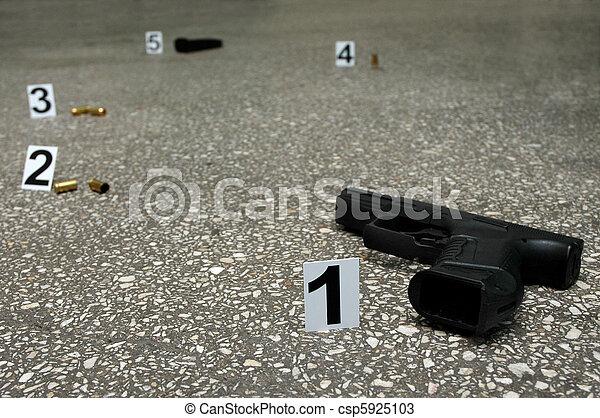 Lugar de tiro - csp5925103