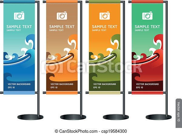 display., handel, stand, udstilling - csp19584300