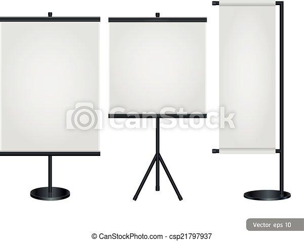 display., handel, stander, tentoonstelling - csp21797937