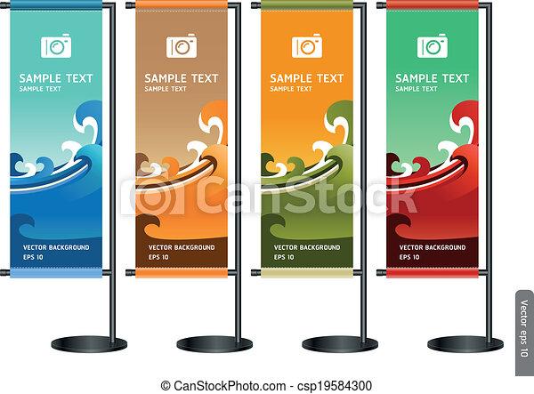 display., handel, stander, tentoonstelling - csp19584300