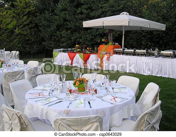 Un banquete de banquetes - csp0643029