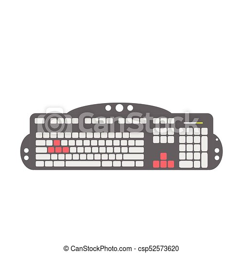 Un dispositivo de teclado - csp52573620