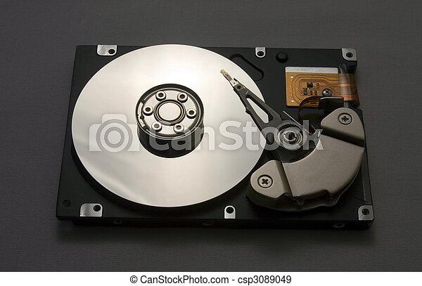 disque, commande dure - csp3089049