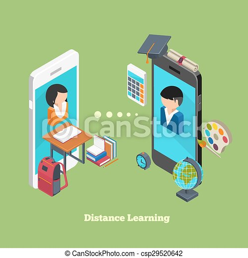 Distance online learning - csp29520642