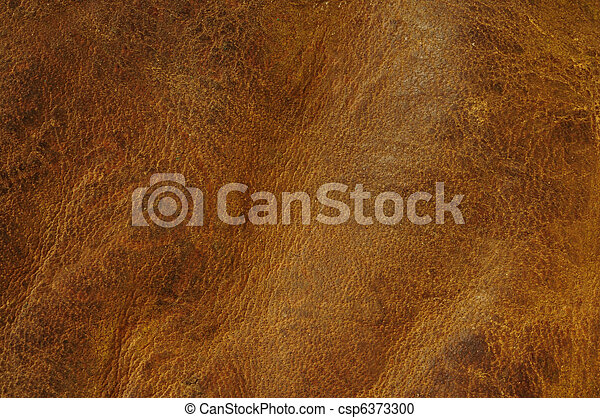Distressed Leather Texture Brown Background
