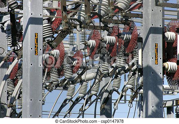 distribution, puissance, e - csp0147978