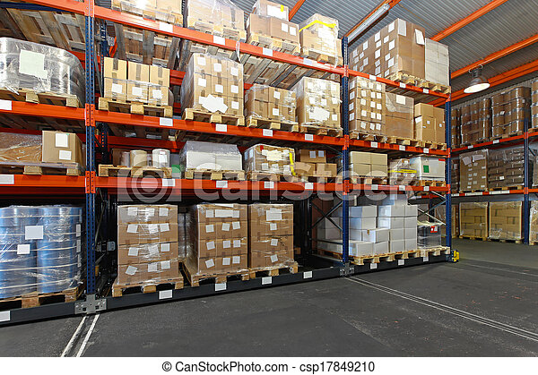 Distribution warehouse - csp17849210
