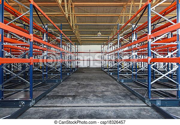 Distribution warehouse - csp18326457
