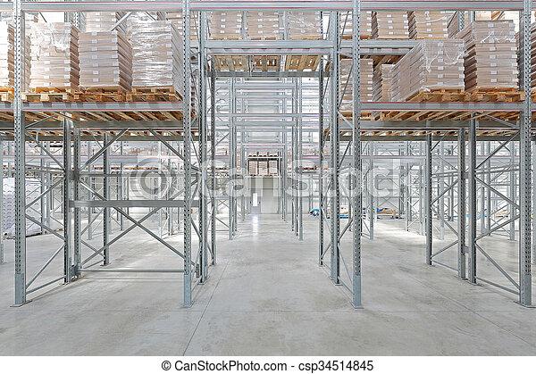 Distribution Warehouse - csp34514845