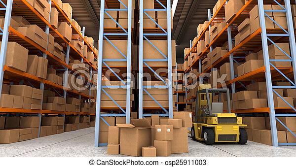 Distribution warehouse - csp25911003