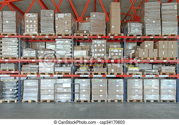 Distribution Warehouse - csp34170603