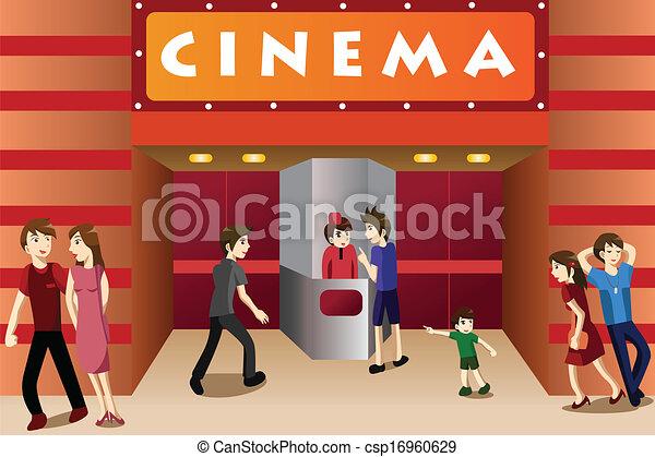divadlo, národ, film, mládě, mimo, zpomalení out - csp16960629