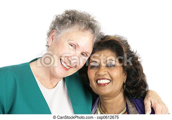 divers, amitié - csp0612675