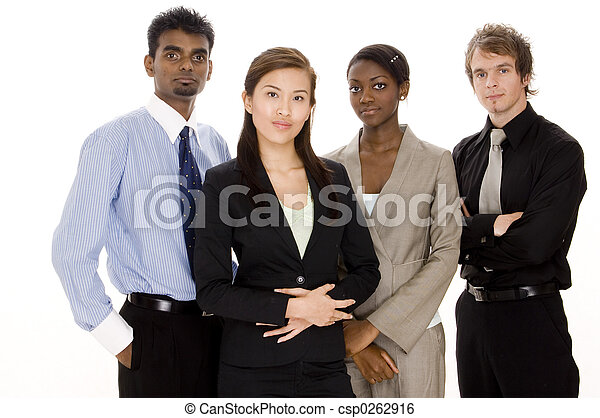 divers, equipe affaires - csp0262916