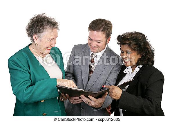 Diverse Business Group - Good News - csp0612685