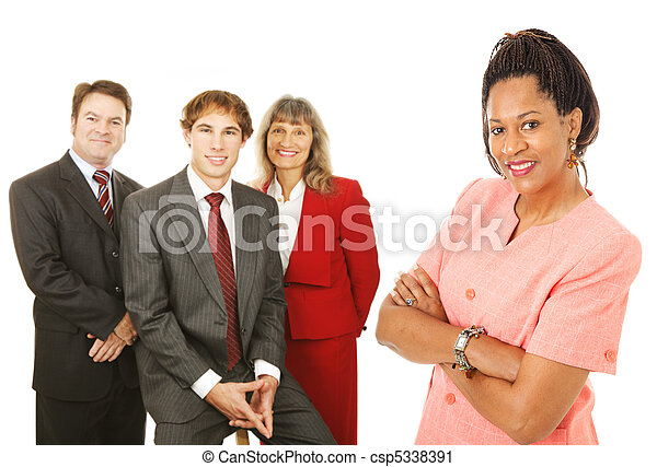 Diverse Business People - csp5338391