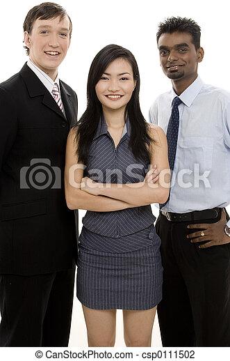 Diverse Business Team 4 - csp0111502