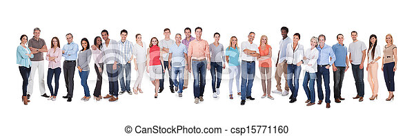 Diverse group of people - csp15771160