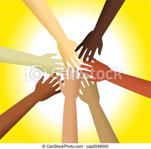 diverse hands - csp2049000