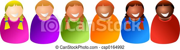diverse kids - csp0164992