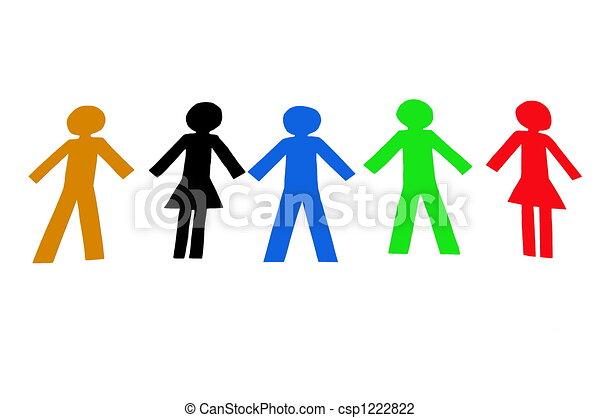 Diverse People - csp1222822