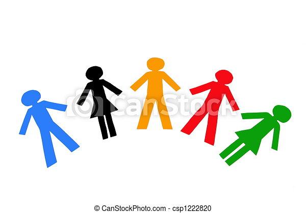 Diverse People - csp1222820