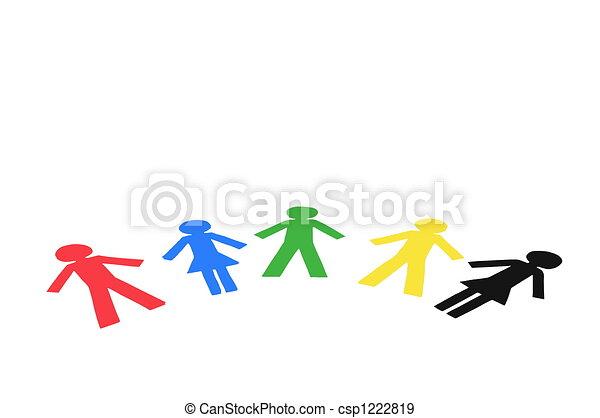 Diverse People - csp1222819