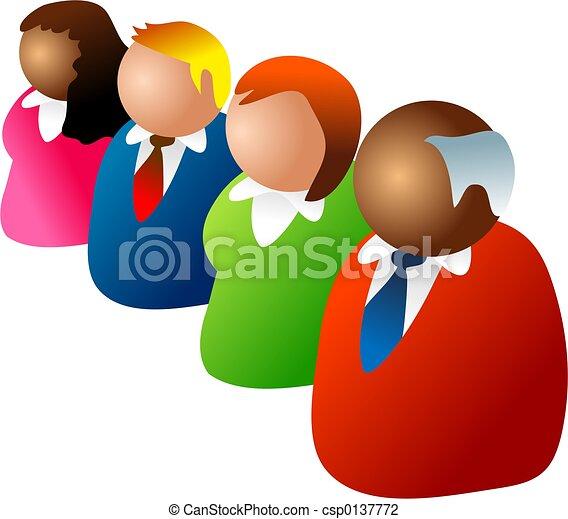 diverse team - csp0137772