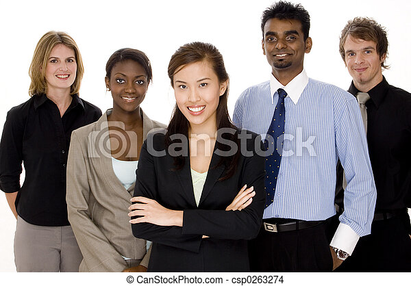 Diversidad empresarial - csp0263274