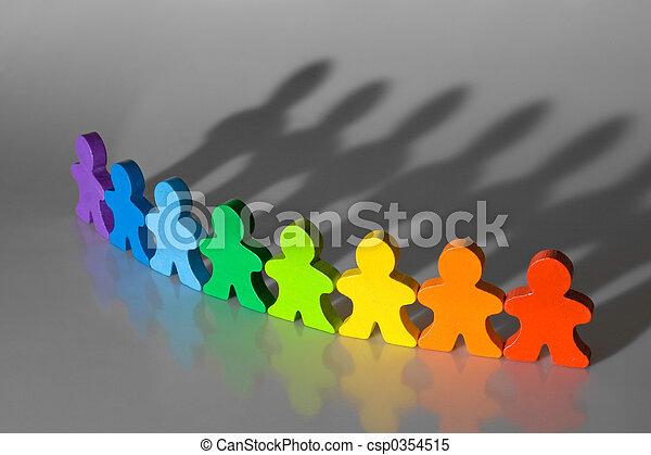 Diversidad y trabajo en equipo - csp0354515