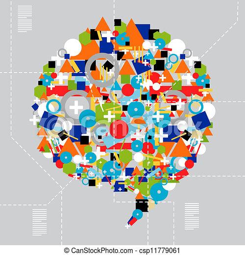diversità, media, tecnologia, sociale - csp11779061