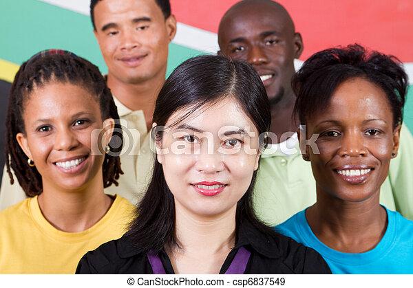diversité, gens - csp6837549