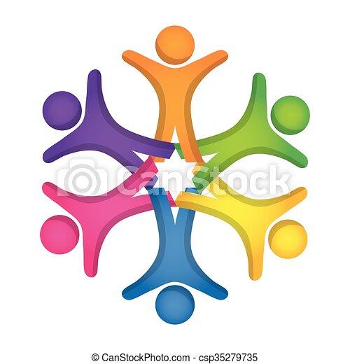 diversity icon design diversity concept with icon design rh canstockphoto ie racial diversity clipart free diversity clipart images