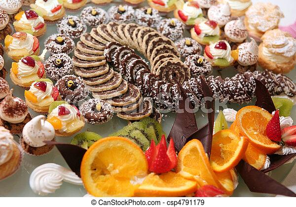 Diversity of pastry - csp4791179