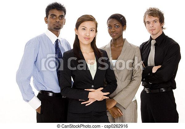 Equipo de negocios inversa - csp0262916