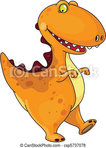 divertente, dinosauro - csp5737078