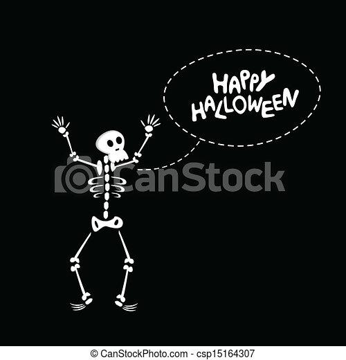 Divertente Scheletro Skeleton Divertente Halloween